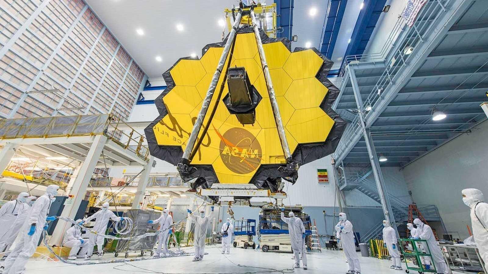 NASA buscará poner en órbita al James Webb el próximo 18 de diciembre